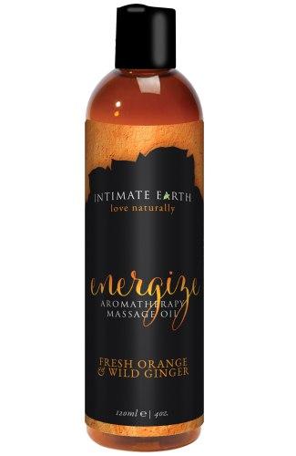 Masážní olej Intimate Earth Energize