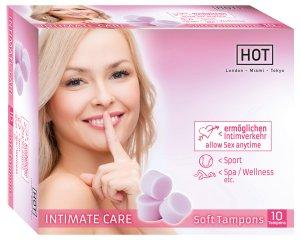 Menstruační houbičky Intimate Care, 10 ks – Menstruační houbičky (tampony)