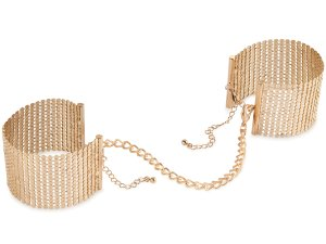 Pouta - náramky Désir Métallique, zlatá – Ozdobná pouta na ruce (náramky)