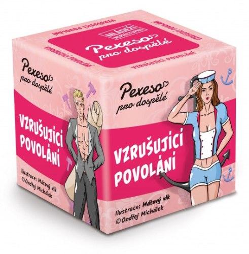 Vzrušující erotické hry: Pexeso pro dospělé - Vzrušující povolání