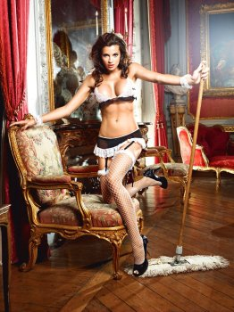 Kostým Francouzská služebná - Do Not Disturb French Maid – Dámské kostýmy na roleplay