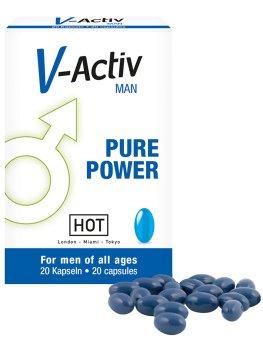 Tablety na lepší erekci V-Activ – Podpora erekce - prášky, krémy, gely