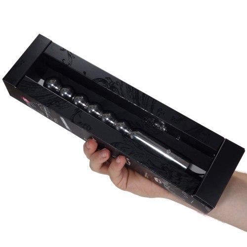 Kovové dildo Bal(l)zac (elektrosex)