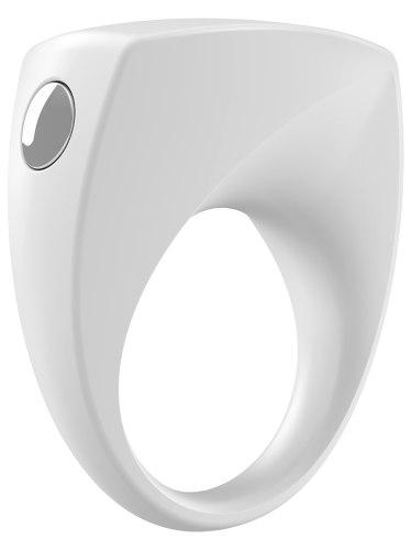 OVO B6 Vibrační erekční kroužek, bílý