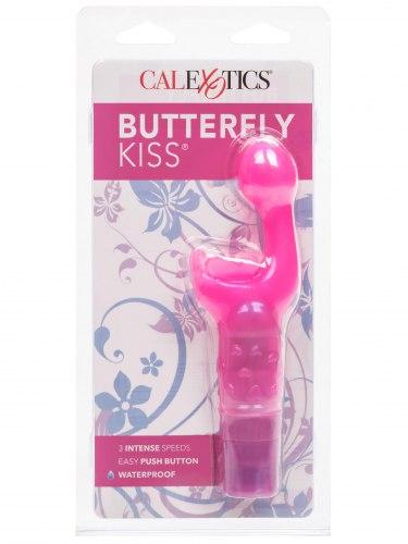 Vibrátor na klitoris a bod G Butterfly Kiss