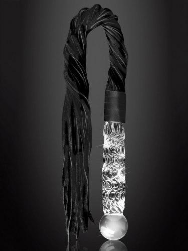 Luxusní bič ze skla a kůže ICICLES No. 38