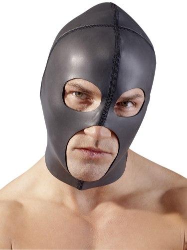 Neoprenová maska se třemi otvory