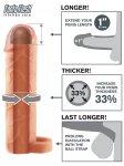 Návlek na penis s poutkem, prodlouží o 2,5 cm