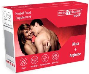 Andropharma Vigor - tablety na pevnější erekci a delší výdrž – Zlepšení erekce