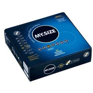 Kondom MY.SIZE 53 mm, 1 ks – Klasické kondomy
