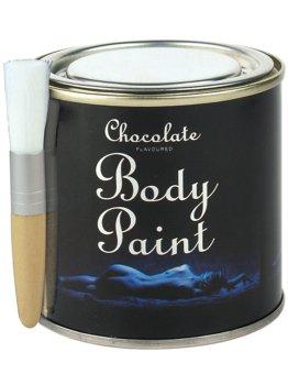 Čokoládový bodypainting v plechovce – Bodypainting, malování na tělo