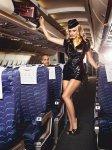 Kostým Sexy letuška - Sexy Stewardess