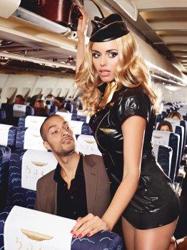 Kostým Sexy letuška - Sexy Stewardess – Dámské kostýmy na roleplay