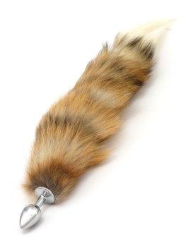 Anální kolík liščí ocásek, hnědý – Anální kolíky s ocasem