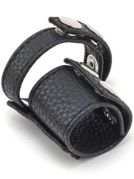 Erekční pásek s natahovákem varlat – Nevibrační erekční kroužky