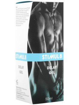 Stimul8 - gel na oddálení ejakulace – Přípravky a pomůcky na oddálení ejakulace