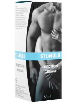 Stimul8 - krém na okamžité posílení erekce – Podpora erekce - prášky, krémy, gely