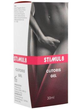 Stimul8 - gel pro citlivější klitoris a silnější orgasmus – Stimulační krémy a gely na penis, klitoris, bod G i bradavky