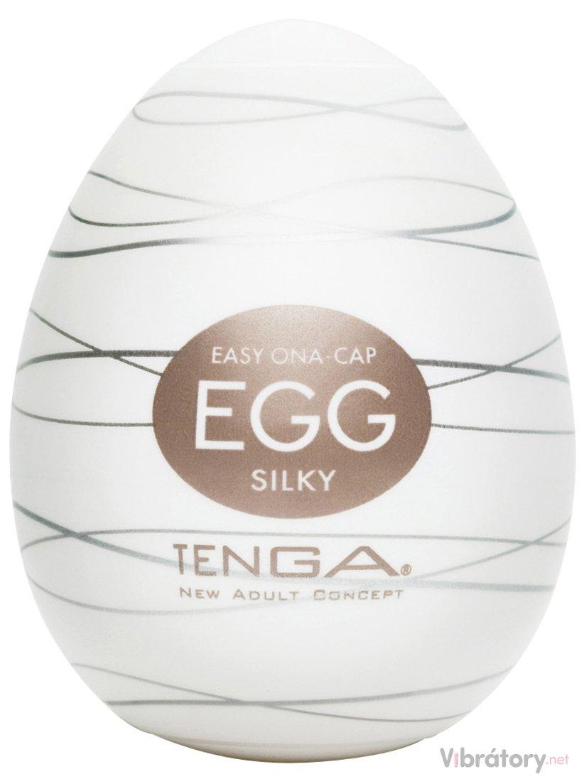 Masturbátor pro muže TENGA Egg Silky