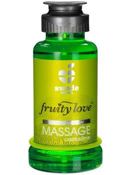 Hřejivá masážní emulze - kaktus/limetka – Erotické masážní oleje a emulze