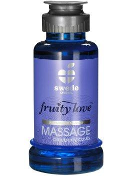 Hřejivá masážní emulze - borůvka/černý rybíz – Erotické masážní oleje a emulze