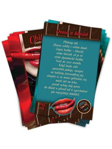 Chilli Pikantní zotročení - erotická hra pro dospělé