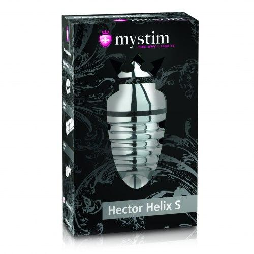Kovový anální kolík Hector Helix L (elektrosex)
