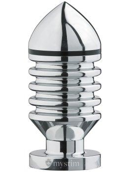 Kovový anální kolík Hector Helix L (elektrosex) – Anální kolíky pro elektrosex