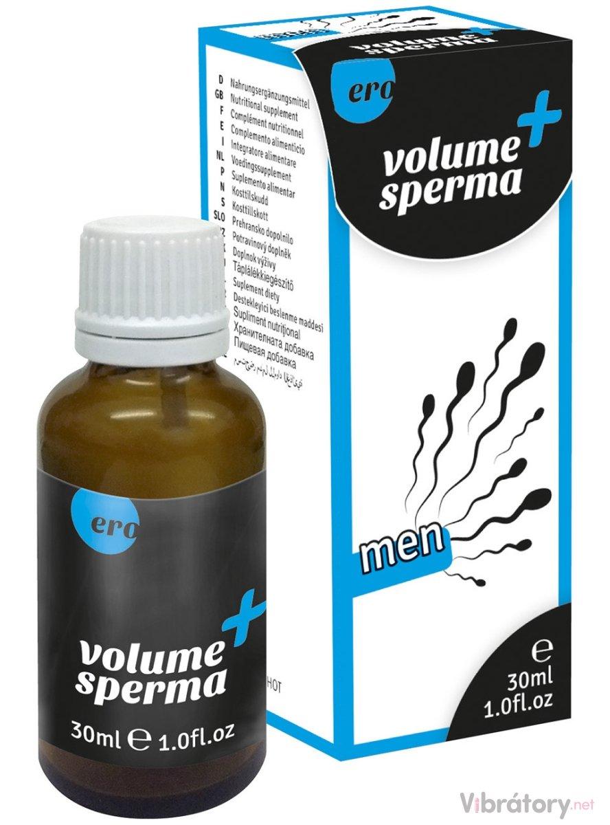 HOT Ero Volume Sperma - kapky na lepší tvorbu spermií, 30 ml