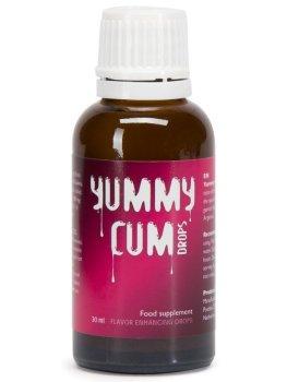 Kapky YUMMY CUM pro lepší chuť spermatu – Přípravky pro zlepšení spermatu