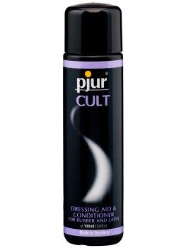 Pjur CULT - pro snadné oblékání gumy a latexu – Spreje a pudry pro lesk a údržbu latexu
