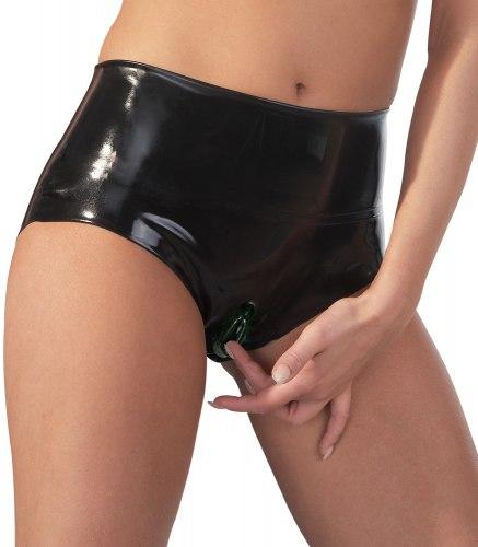 Latexové kalhotky s vytvarovanou vaginou a vnitřní kapsou 0dc211a80f