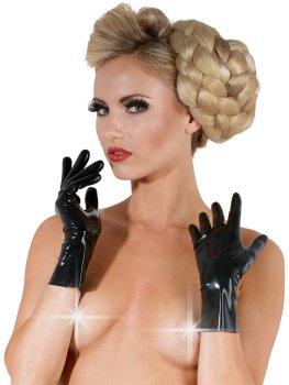 Krátké latexové rukavice – Latexové oblečení pro ženy