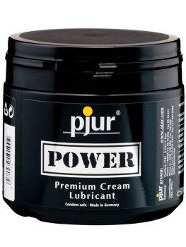 Krémový hybridní lubrikant Pjur Power – Lubrikační gely a krémy na fisting