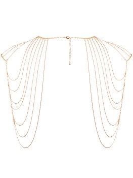 Ozdoba na ramena Magnifique, zlatá – Vzrušující intimní šperky, ozdoby a bižuterie