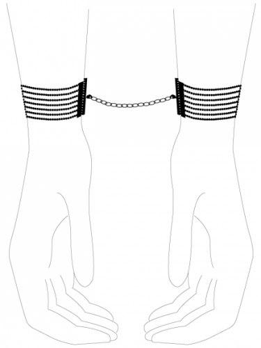 Pouta - náramky Désir Métallique, černá