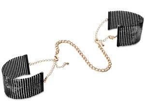 Pouta - náramky Désir Métallique, černá – Vzrušující intimní šperky, ozdoby a bižuterie