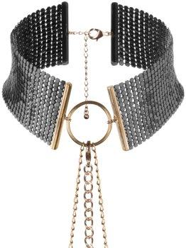 Obojek - náhrdelník Désir Métallique, černý – Úžasné ozdoby na krk, náhrdelníky a ozdobné obojky