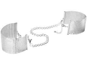 Pouta - náramky Désir Métallique, stříbrná – Vzrušující intimní šperky, ozdoby a bižuterie