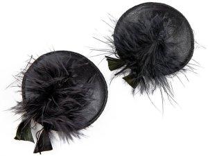 Ozdoby na bradavky Burlesque Feathers – Vzrušující intimní šperky, ozdoby a bižuterie