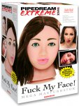 Sexy brunetka - masturbátor Fuck My Face