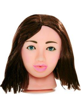 Sexy brunetka - masturbátor Fuck My Face – Realistická torza pro muže i ženy