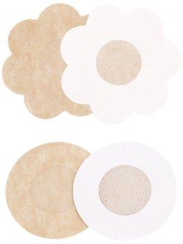Diskrétní nálepky na bradavky, 1 pár – Vycpávky a nálepky na bradavky