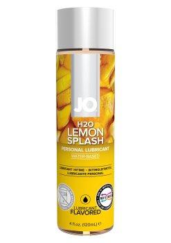 Lubrikační gel System JO H2O Citron – Lubrikační gely s příchutí (ideální na orální sex)