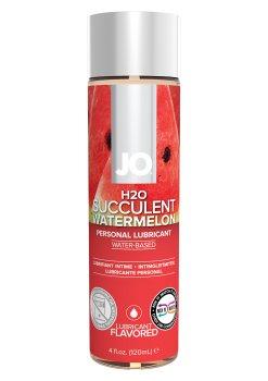 Lubrikační gel System JO H2O Vodní meloun – Lubrikační gely s příchutí (ideální na orální sex)