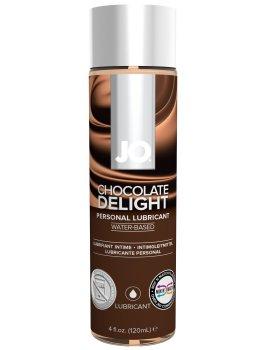 Lubrikační gel System JO H2O Čokoláda – Lubrikační gely s příchutí (ideální na orální sex)