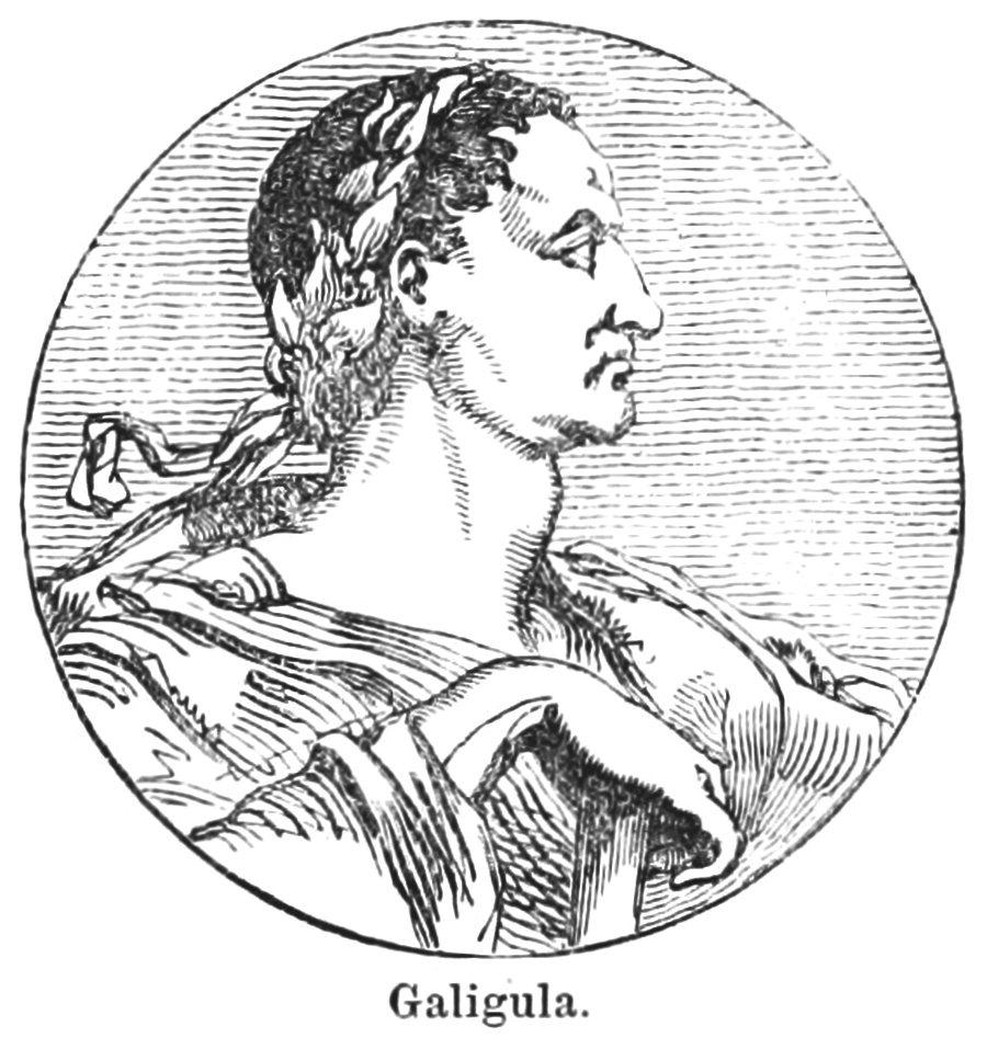 Caligula se oddával divokému sexu se svými sestrami.