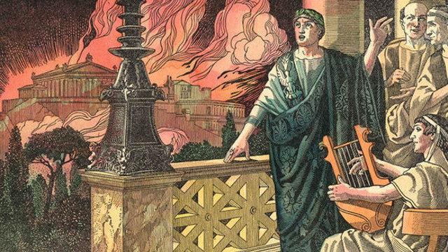 Nero své perverzní choutky ukájel oblečený do kůže mrtvých zvířat.