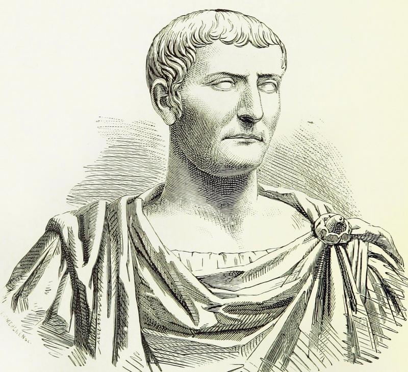 Římský císař Tiberius měl až moc rád malé děti.