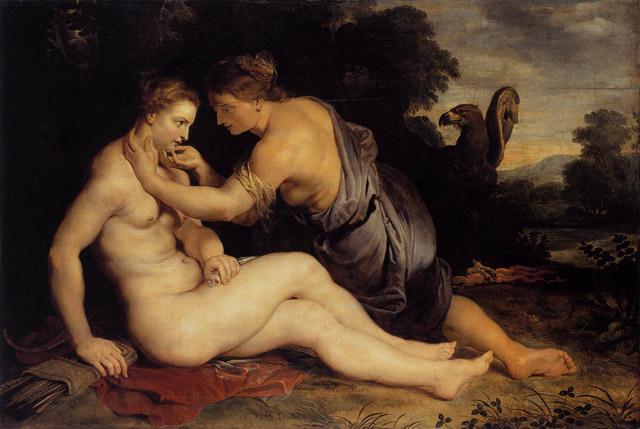 S Kallistó si Zeus užil lesbické hrátky - aby ji dostal, přeměnil se v bohyni Artemis.